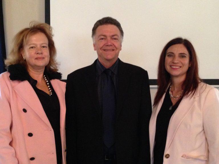 Debbie Besseling, SAICE Technical Division's Administrator, Steven Kaplan, SAICE COO and Madeleen Engelbrecht